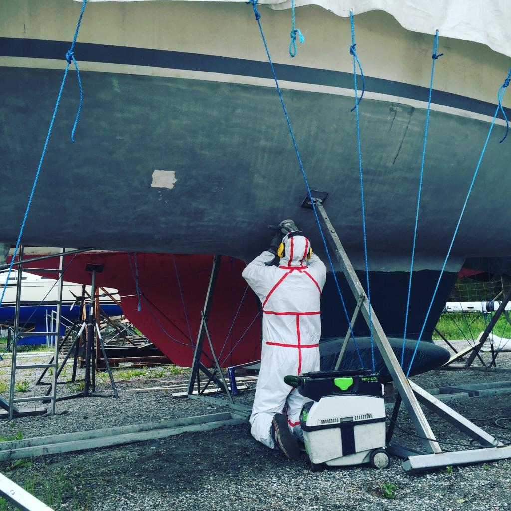 botenslipning-segelbåt
